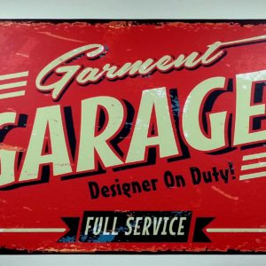 Garment Garage Sign