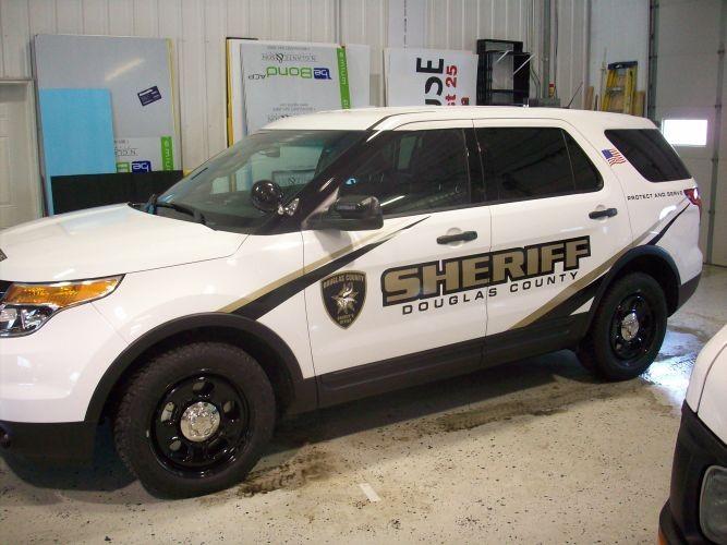Sheriff Vehicle Graphic Winning Edge Graphics
