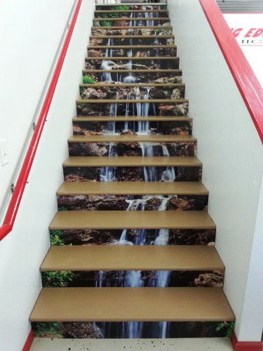 Stair graphic