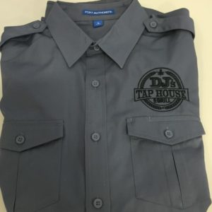 DJ Tap House - work shirt - apparel