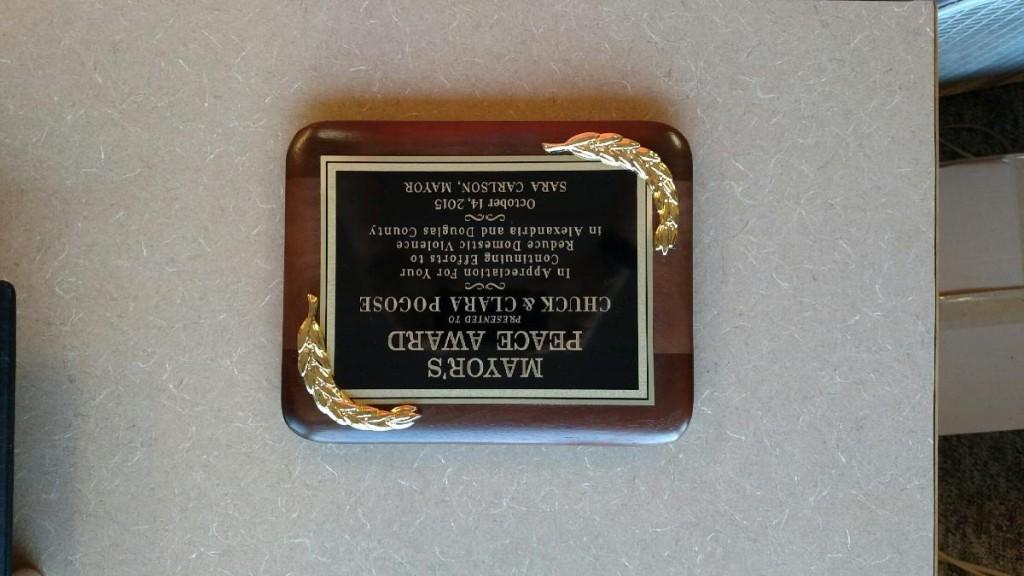 Mayor's Peace Award
